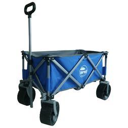 Folding Utility Wagon Cart Travel Outdoor Garden Yard Campin