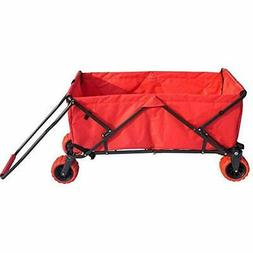 Impact Canopy Folding Utility Wagon, Collapsible All-Terrain