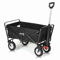 Folding Wagon Cart All-Terrain Collapsible Outdoor Utility W