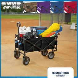 folding wagon cart collapsible garden beach utility