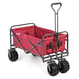 Sekey Folding Wagon Cart Collapsible Outdoor Utility Wagon G