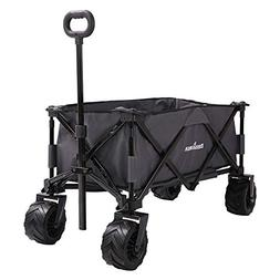 Patio Guarder Folding Wagon Cart Heavy Duty Collapsible All