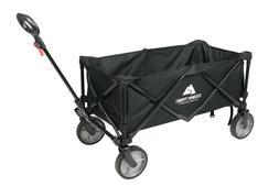 Folding Wagon Cart Outdoor Multipurpose Camping Furniture Te