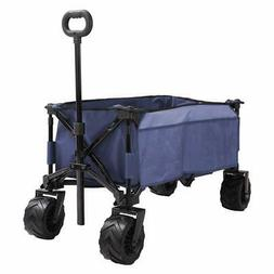 Patio Guarder Folding Wagon Cart, All-Terrain Wheels, Heavy