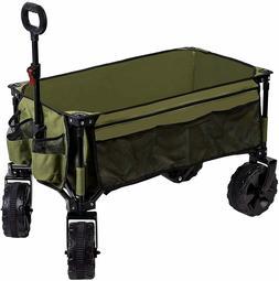 Timber Ridge Folding Wagon Collapsible Utility Outdoor Cart