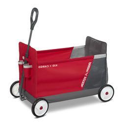 Folding Wagon Kid Cargo Wagon Riding Toys Home Child Seating