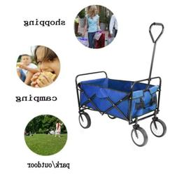 Folding Wagon Utility Outdoor Collapsible Large Portable Spo