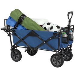 Macwagon Folding Wagon with Table in Blue WTC-193