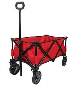 Patio Watcher Heavy Duty Collapsible Folding Garden Cart Uti