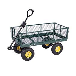 heavy duty utility wheelbarrow lawn