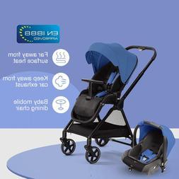 High Landscape Baby Stroller and Basket Travel Portable <fon