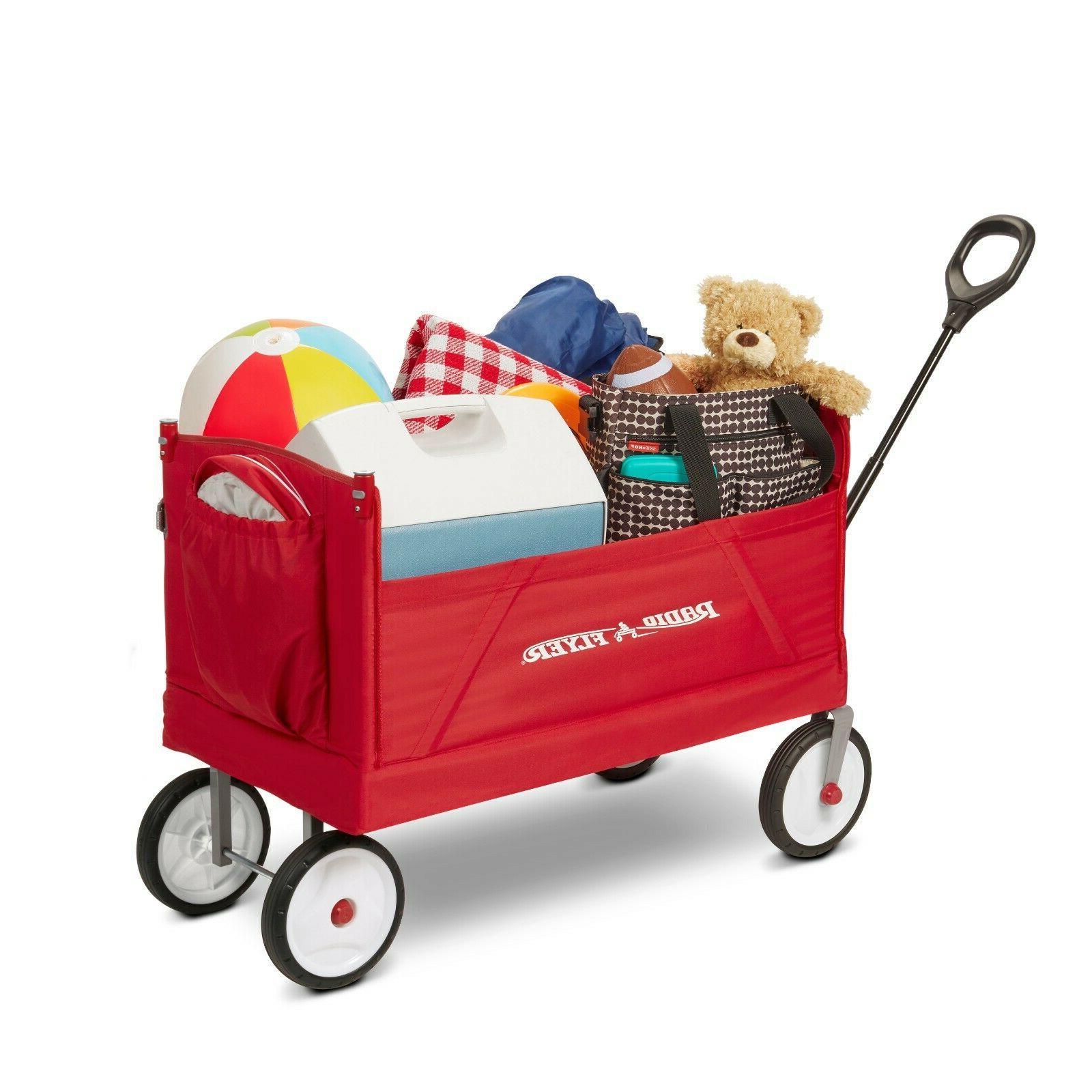 Radio Flyer, Fold Wagon Ride-On Kids