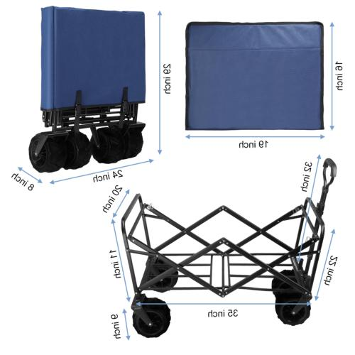 Pull Collapsible Beach Cart