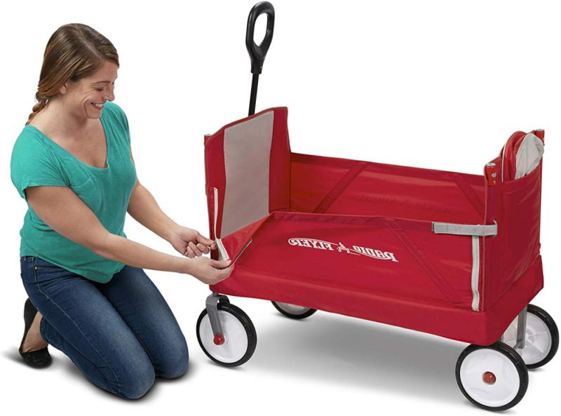 Radio 3-In-1 Ez Folding with Canopy Cargo, Red