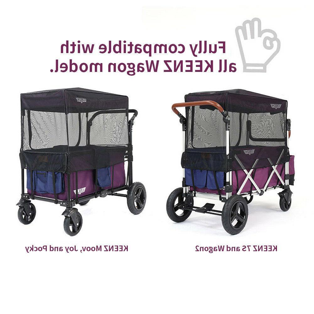 Keenz Moov Wagon Stroller Net Bug Screen