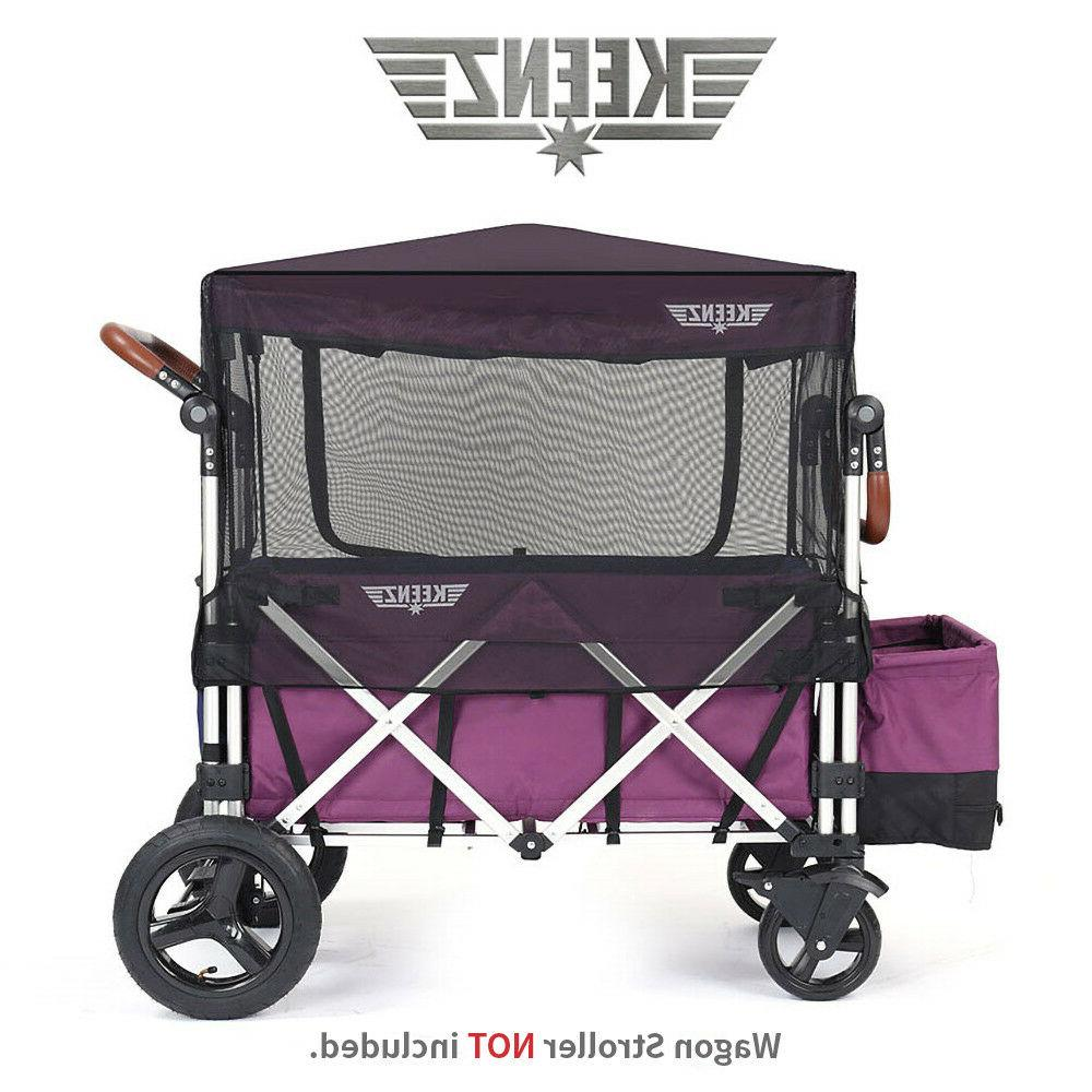Keenz Wagon Stroller Bug Screen