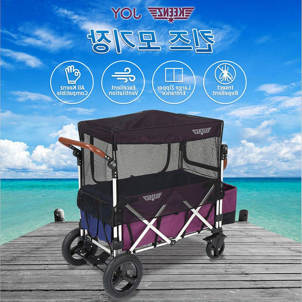 7s moov folding wagon stroller mosquito net