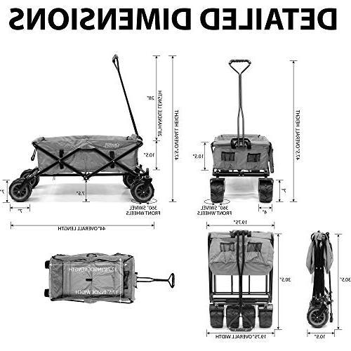 collapsible folding wagon cart