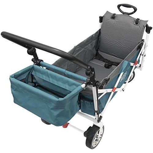 Creative Outdoor Air Seat Rest for Pull Wagons  
