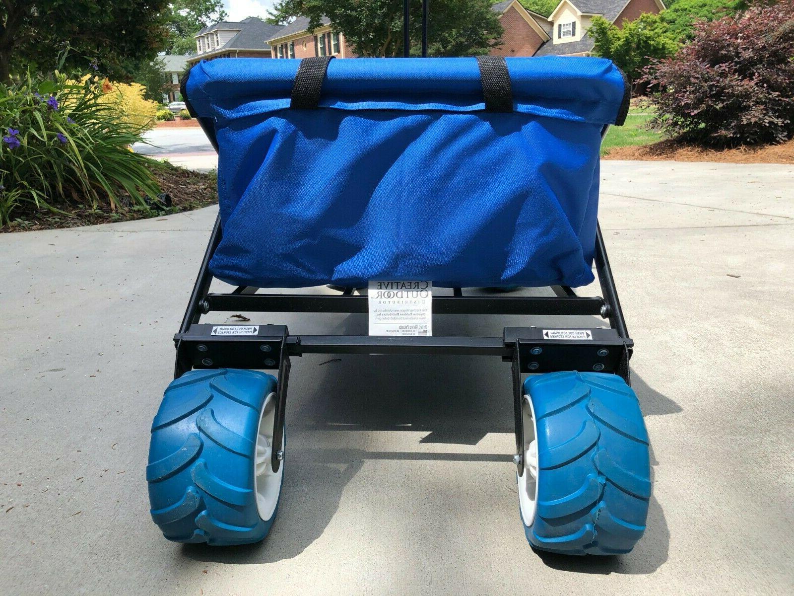 Creative Folding Wagon, Blue