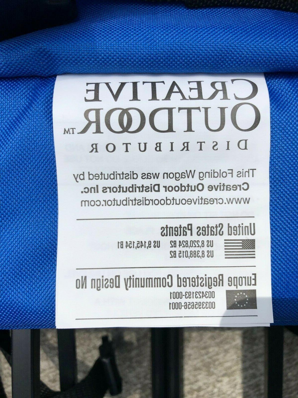 Creative Folding Blue
