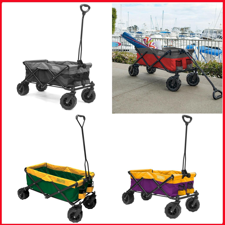 all terrain folding wagon fits in most