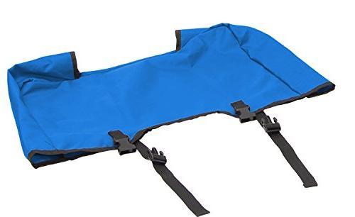 Creative Folding Wagon Cooler Blue/Grey