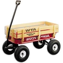 Radio Flyer AllTerrain Steel &Wood Wagon