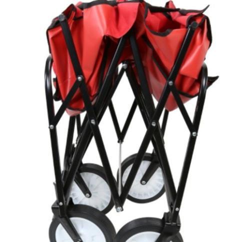 Beach Cart Kid Folding Storage Camping Trolley Garden Utility