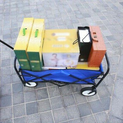 Collapsible Wagon Wagon Cart Portable Utility GREEN