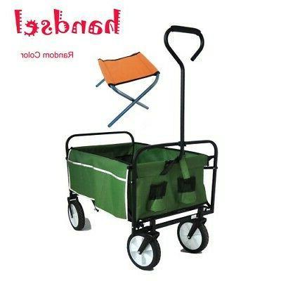 Collapsible Folding Wagon Wagon Portable Utility