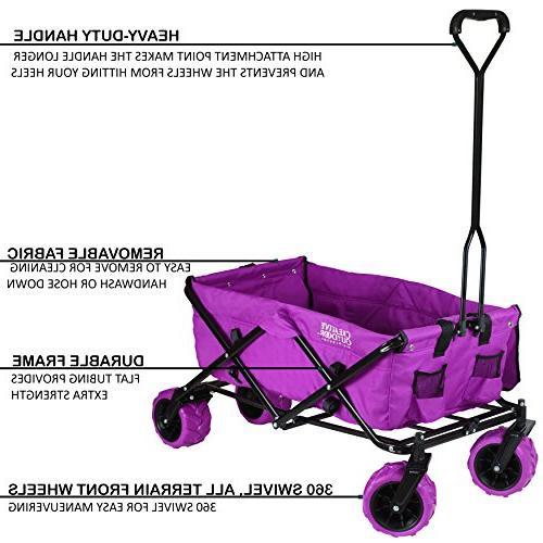 Big Wheel Outdoor & Folding Utility Wagon