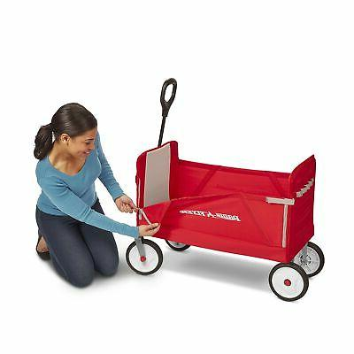 Brand New Flyer 3-in-1 EZ Fold Wagon Ride