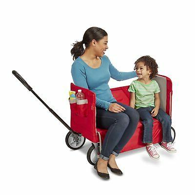 Brand 3-in-1 EZ Fold Ride Red