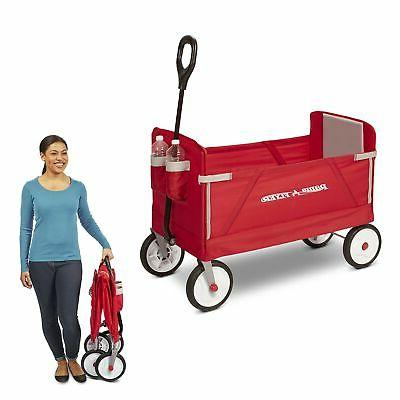 Brand Flyer 3-in-1 Ride On, Red