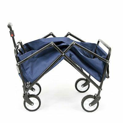 Brand Wagon Garden Folding Utility Cart,Beach Red