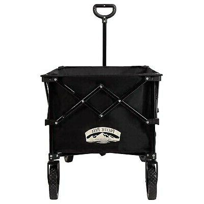 Pacific Wagon Large Collapsible Cart for Outdoor, Garden...