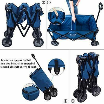 Camping Wagon Cart Shopping Heavy Use