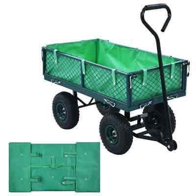 cart liner for heavy duty utility folding