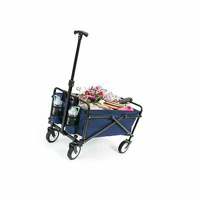 carts wagon garden folding utility