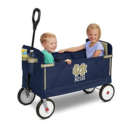 Radio 3-in-1 EZ Fold Childrens Wagons, Blue