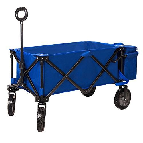 Timber Wagon Camping Utility Cart Ice Bag up 150lbs, Duty
