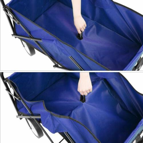 Collapsible Folding Wagon Cart Beach Sports Chart