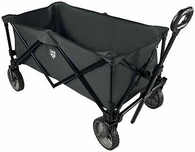 collapsible fold utility wagon quad compact outdoor