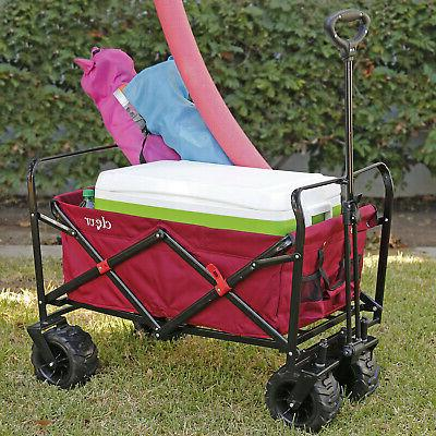 Collapsible Foldable Outdoor Wagon Cart Terrain
