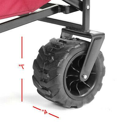 Collapsible Foldable Wagon Cart All Terrain