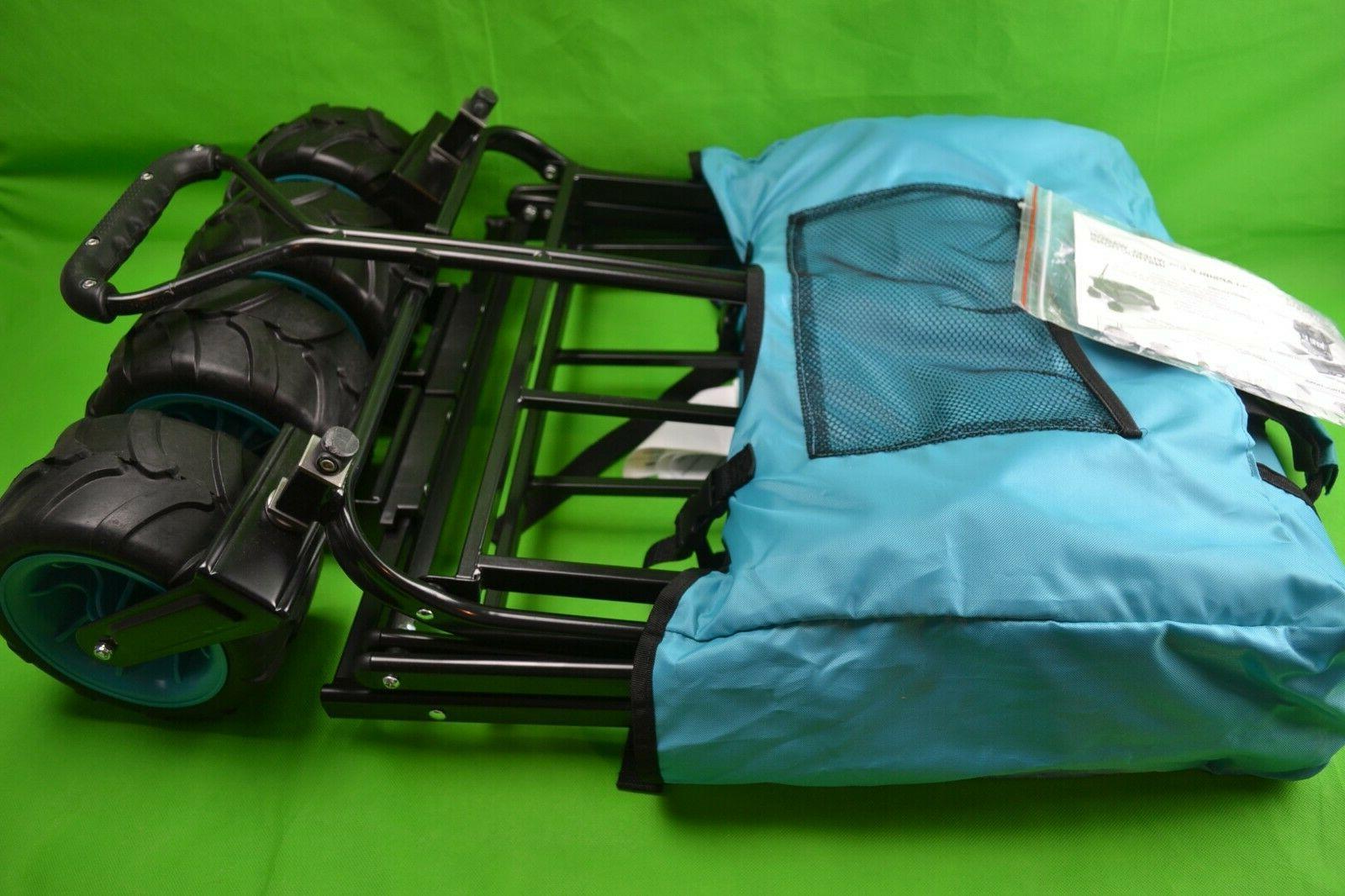 collapsible folding all terrain wagon 150 pound