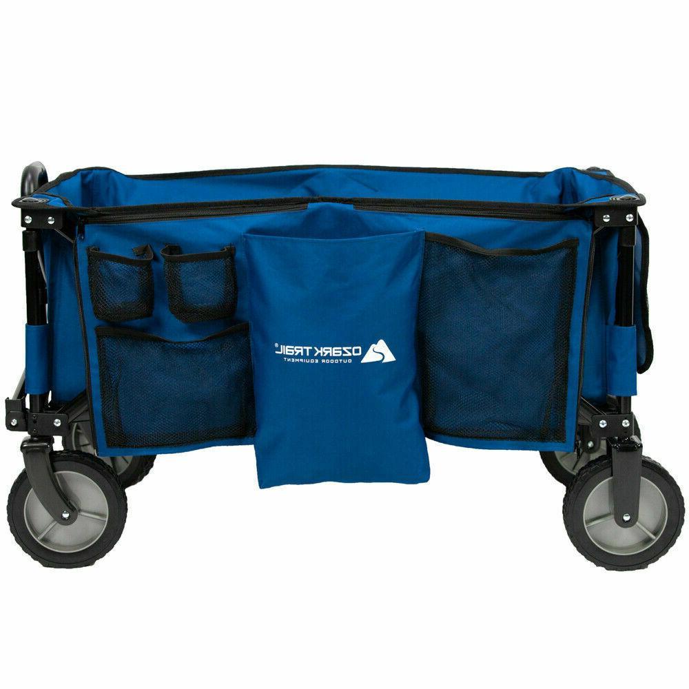 Collapsible Folding Cart Beach Shopping Cart