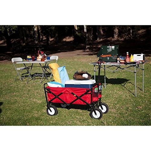 Mac Sports Folding Steel Garden Utility Cart