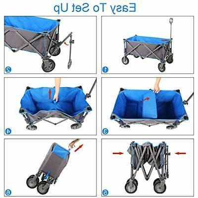 Collapsible Quad Compact Garden Camping with